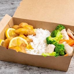 Lemon Chicken & Chicken Broccoli