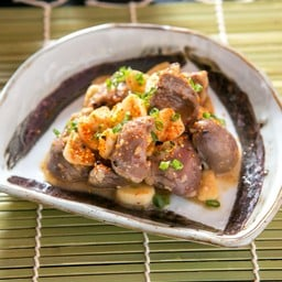[Hatsu-miso tsuke] หัวใจดองมิโซะ Heart Marinated with Miso and Garlic