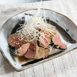 [Reba-yawaraka sho-yu tsuke] ตับอ่อนหมักซีอิ๊วญี่ปุ่น Liver Marinated with Soy Sauce