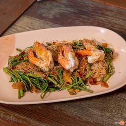 กุ้ง อิ่ม อร่อย 1 เจ๊อ๋า ผัดไทย หอยทอด