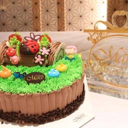 สวีทตี้ ปาร์ตี้ ช็อคโกแลต 6 นิ้ว (1ปอนด์)
