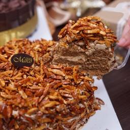 เค้กเจนัว ช็อกโกแลต 6นิ้ว (1ปอนด์)