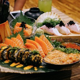Salmon Double Set
