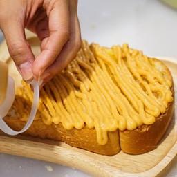 ขนมปังสังขยาชาไทย