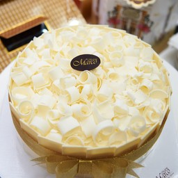 เค้กมิลค์กี้ไวท์ช็อก 6นิ้ว (1ปอนด์)