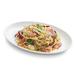 Spicy Bacon Speghetti
