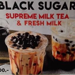 Black Sugar Supreme Milk Tea