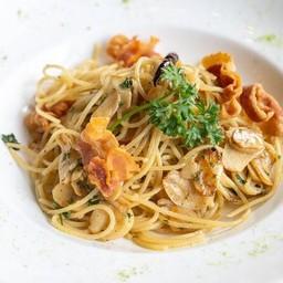 116. Spaghetti Aglio, Olio e Salsiccia