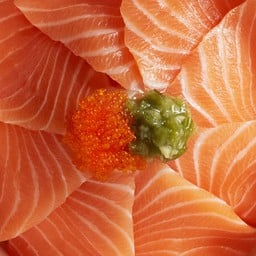 Salmon Don Set เซ็ตข้าวหน้าปลาแซลมอน