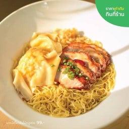 Hongkong Noodle PTT สุขสวัสดิ์