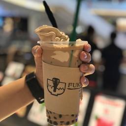 ชานมซอฟต์ไอศกรีมรสชานมใส่ไข่มุกน้ำผึ้ง##1