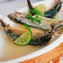 ปลาทูต้มมะนาว  สูตรแม่