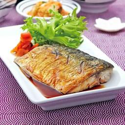 ปลาซาบะย่างซีอิ๊ว##1