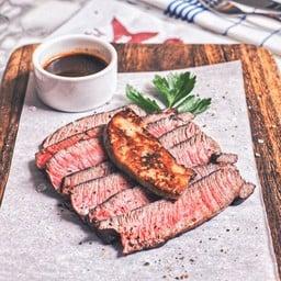 Flat Iron Steak & Foie Gras