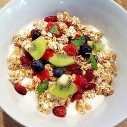 Granola + Yogurt + Fruit