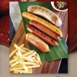 คาราวานไส้กรอก-Grilled Mixed Sausage
