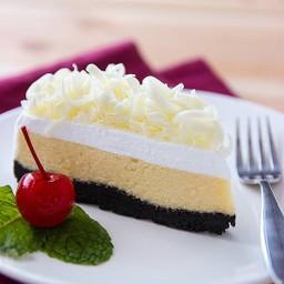 เค้ก - ไวท์ ช็อค ชีสเค้ก