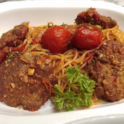 Pork Ball Spaghetti