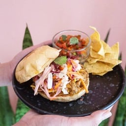 New Mexican Pork Sliders