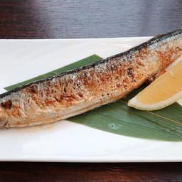 ปลาซัมมะย่างเกลือ