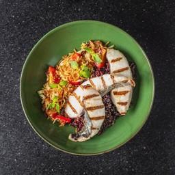 Mackerel & Green Mango Rice