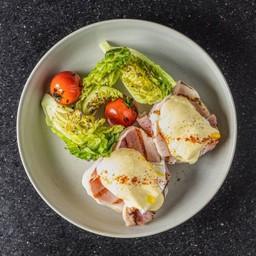 Ham Egg Benedict