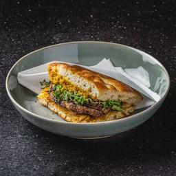 Grilled Mushroom & Kale SW