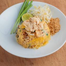ผัดไทยไก่