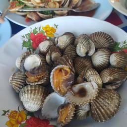 หอยแครงลวกจิ้ม