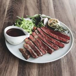 สเต็กเนื้อออสเตรเลียวากิว A4