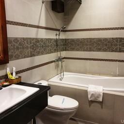 ตอนแรกไม่คิดว่าจะดีขนาดมีอ่างอาบน้ำให้ แต่ว่ามีจร้า