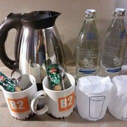 กาแฟ , น้ำดื่ม กาต้มน้ำร้อน ภายในห้อง