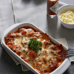 Sausage (Chicken or Pork) Baked with Cheese
