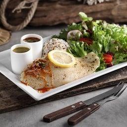 สเต็กปลาบาซาอ่าวไทย