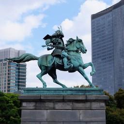 Statue of Kusunoki Masashige