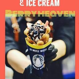 Waffle Wish วาฟเฟิลฮ่องกงไอศกรีม /วาฟเฟิลเค้กสไตล์เกาหลี เซ็นทรัลพลาซ่าเวสเกต