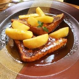 Apple Honey Toast