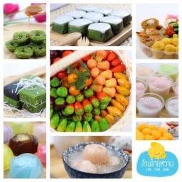 ขนมไทยล้านไทยหวาน Thai Dessert by Lanthaiwhan Foodland ศรีนครินทร์