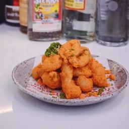 Fried Calamari with Cheese