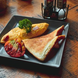 Ham Cheese Omelette