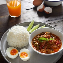 Pork Panang Rice