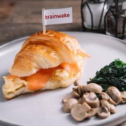 Croissant SC salmon