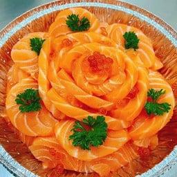 เค้กแซลมอนล้วน 500 กรัม