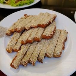 ขนมปังหน้ากุ้ง