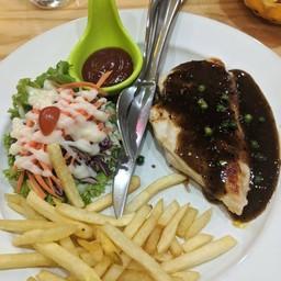 Ice Cream Chicken Bingsu
