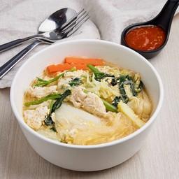 สุกี้วุ้นเส้น Thai sukiyaki