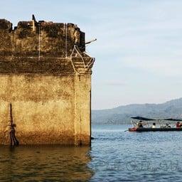 เมืองบาดาล วัดศรีสุวรรณเก่า โบสถ์จมน้ำ