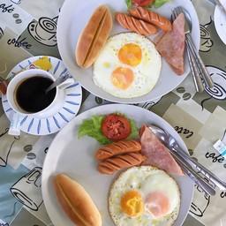 บ้านพลอย อาหารเช้า