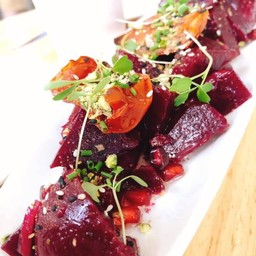 Beetroot and Tomato Salad