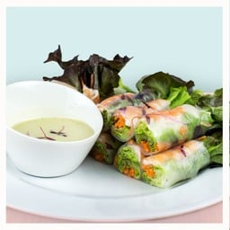 Shrimp Roll สลัดโรลกุ้ง